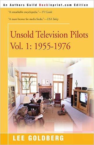 unsold television pilots volume 1 1955 1976