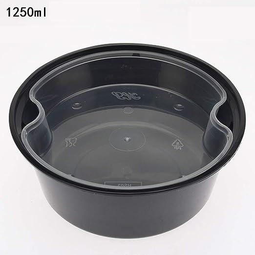 Xiao-bowl3 400 Cajas de Alimentos Desechables para la Comida ...