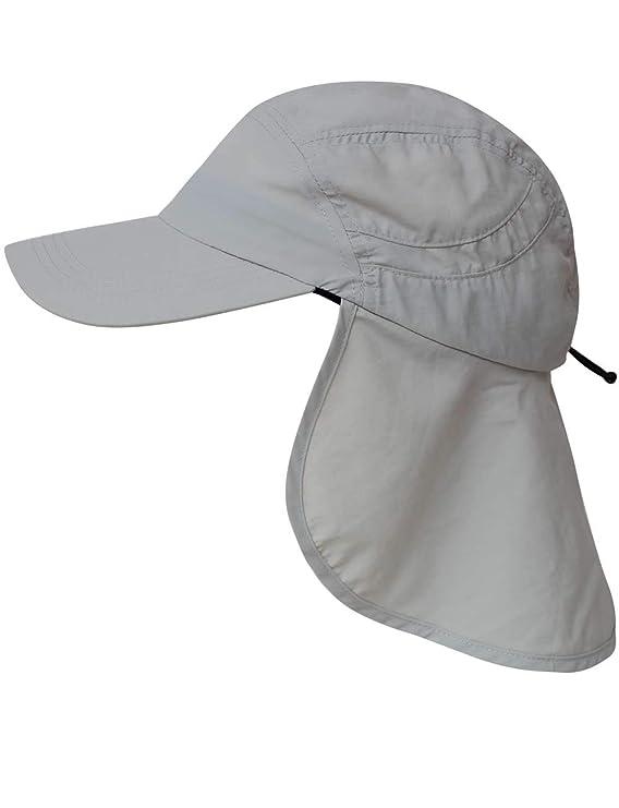 normani Sommer Cap Savannah mit einrollbarem Nackenschutz