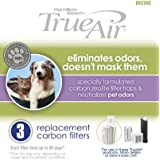 Hamilton Beach Replacement Carbon Pet Filter. Works with TrueAir 04384, 04386, 04532, 04532GM, & 04530. 3-Pack...
