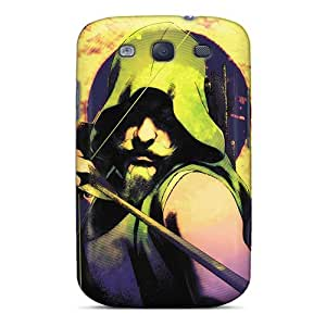 Durable Hard Phone Case For Samsung Galaxy S3 (Irz12896khlf) Provide Private Custom Attractive Green Arrow I4 Series