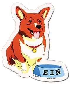 Cowboy Bebop Data Dog Ein [Pembroke Welsh Corgi] Sticker