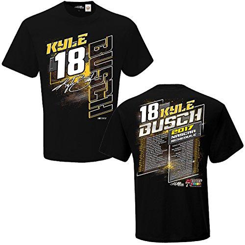 nascar-2017-drivers-schedule-racing-t-shirt-18-kyle-busch-xxl