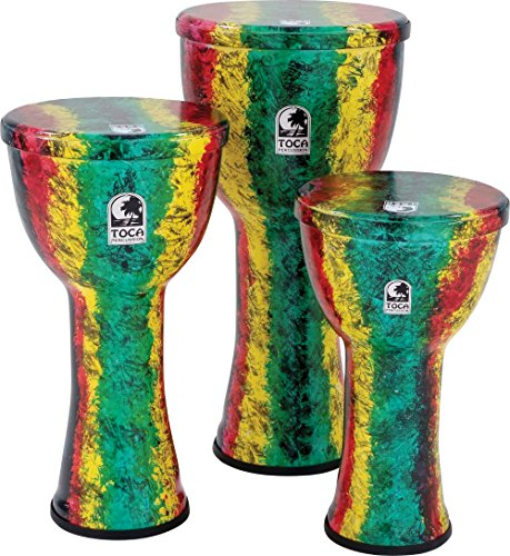 Toca Freestyle Lightweight Djembe Drum 12 inch Earth Tone (12 inch Earth Tone)