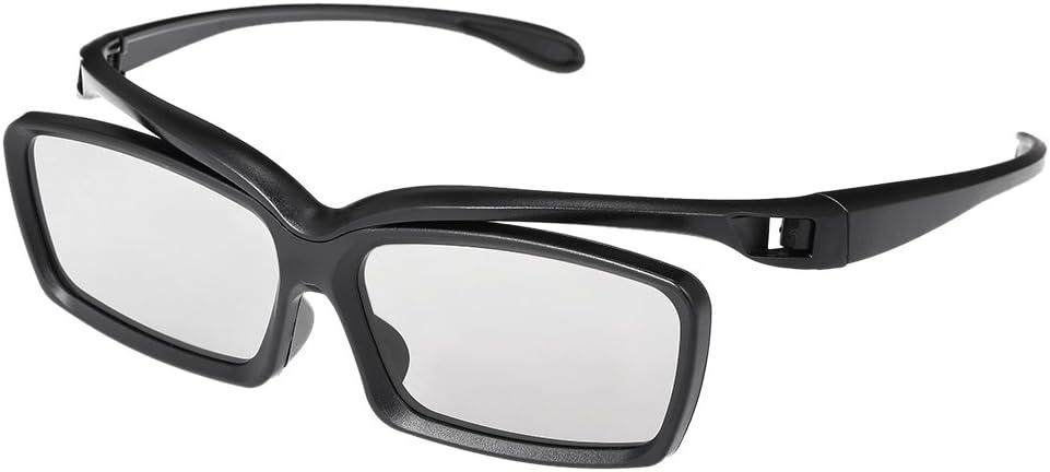 Gamogo LT01 Gafas 3D pasivas Lentes polarizadas Circulares para televisores polarizados Cines 3D Reales D para Sony Panasonic: Amazon.es: Electrónica