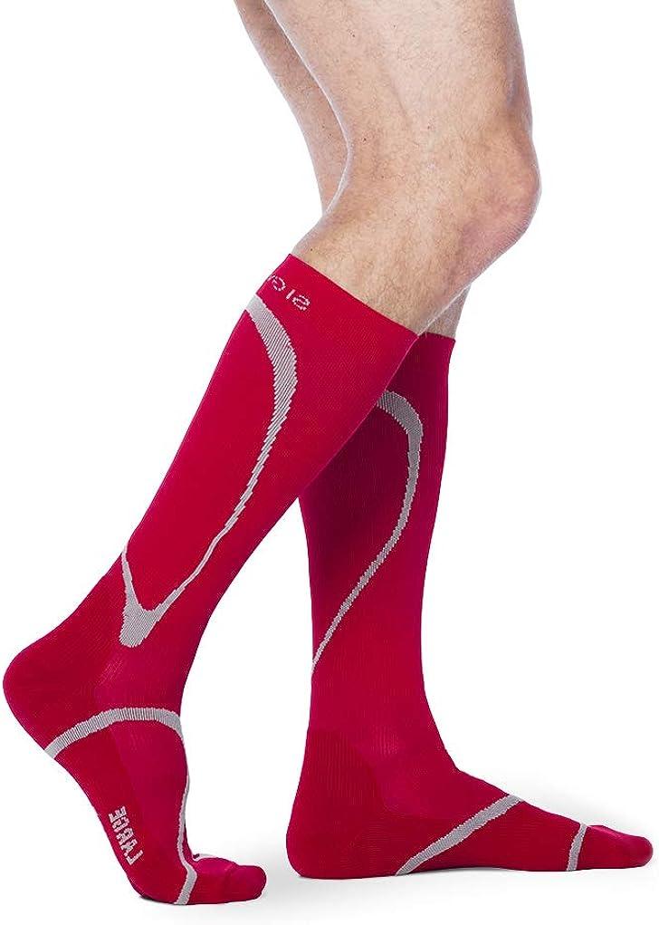 SIGVARIS Men/'s /& Women/'s Motion High Tech 412 Closed Toe Calf-High Socks 20-30mmHg