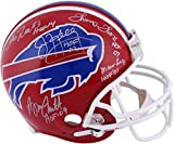 Buffalo Bills Autographed Riddell Pro Line Authentic Helmet with 5 Signatures and HOF Inscription - Fanatics Authentic Certified