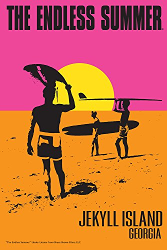 Jekyll Island, Georgia - The Endless Summer - Original Movie Poster Collectible Giclee Gallery