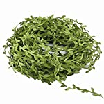 Hecaty-132-ft-Olive-Green-Leaves-Leaf-Trim-Ribbon-for-DIY-Craft-Party-Wedding-Home-Decoration