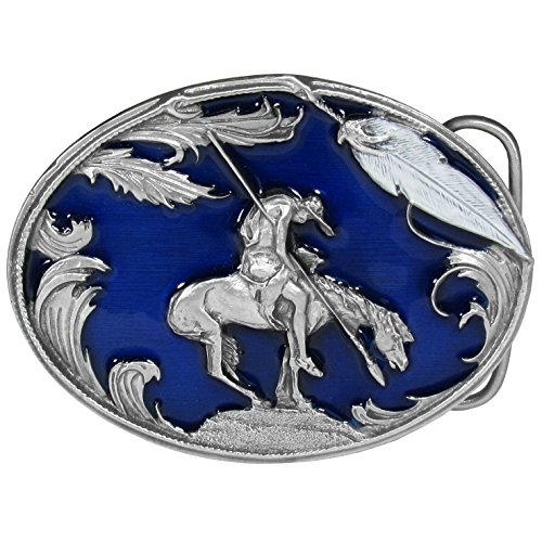 End Of The Trail Indian Belt Buckle Unequaled With The Best Craftsmanship