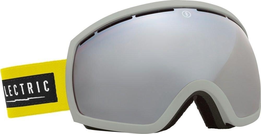 イエロー/シルバーElectric eg2 Dubシルバーミラーメンズスキースノーボードゴーグル+無料レンズ B072QZ5QX7