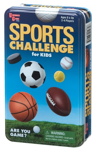 University Games Sports Challenge for Kids
