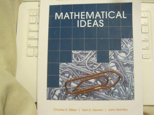 Mathematical Ideas (Custom 12th Edition for Borough of Manhattan Community College)