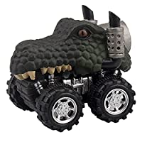 Hot Sale!DEESEE(TM)Animal Children Gift Toy Dinosaur Model Mini Toy Car Gift Pull Back Cars Toy