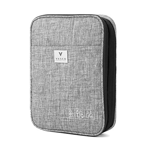 VASCO Travel Electronics Gadget & Cable Organizer Bag – Smart & Safe Storage (Grey) by Vasco