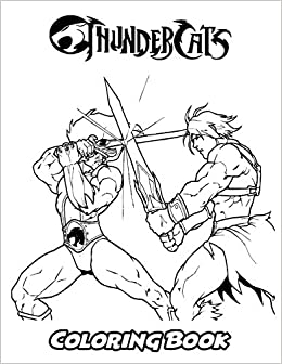 Amazon.com: ThunderCats Coloring Book: Coloring Book for Kids and ...