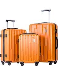 Merax Luggage set 3 piece luggages Suitcase with TSA lock