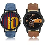 Xforia Premium Quality Stylish & Fashionable Combo Analouge Watches For Men