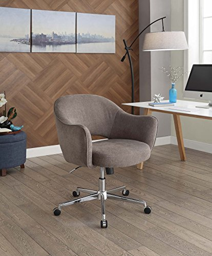 Serta Valetta Dovetail Gray Home Office Chair by Serta