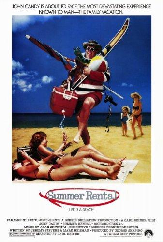Summer Rental Poster Movie 27x40 John Candy Rip Torn Rich...
