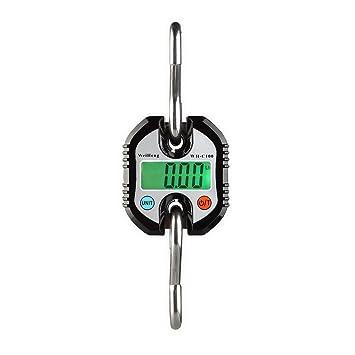favourall 150 kg Electrónica Báscula grúa Digital grúa Balanza colgante batería de la Industria - Báscula Báscula LCD Tren de carga Negro: Amazon.es: Hogar