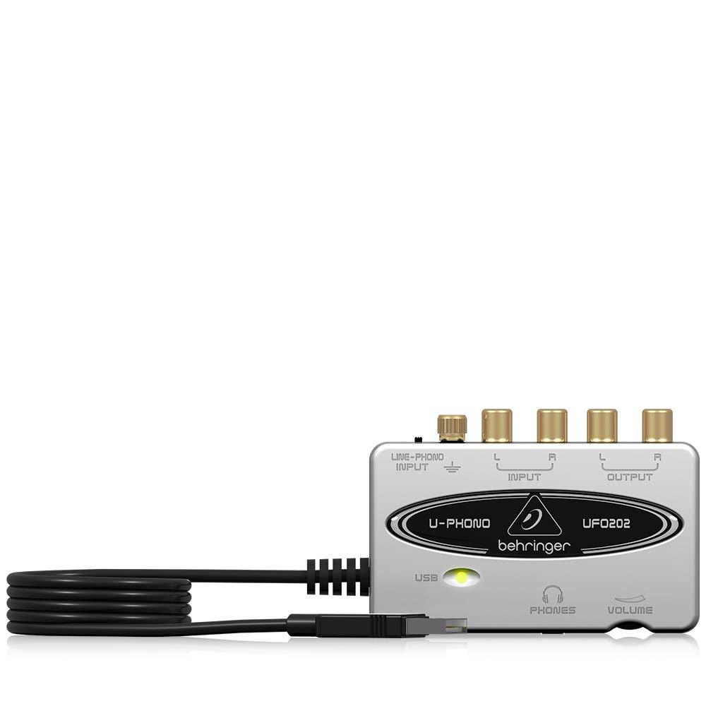 Behringer U-phono Ufo202 - Audiophile Usb / Interfaz De A...