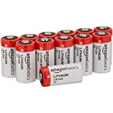 AmazonBasics Lithium CR123a 3V Batteries, 12-pack (Not recommended for Arlo Cameras)