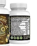 Vision Max Saffron Plus Lutein Zeaxanthin Meso Zeaxantin AREDS2 Vitamin Minerals Beta-carotene free 60 Capsules Potent Unique Supplement Eye amp Vision Discount