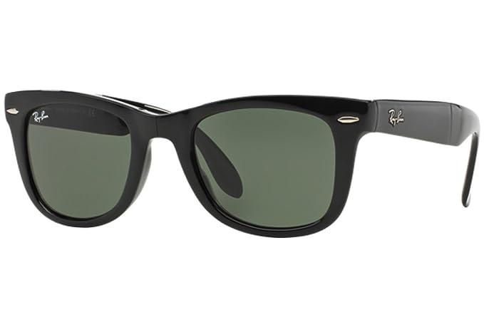 57c944c545 Ray-Ban - 4105 SOLE, Occhiali da sole da donna, nero (crystal green), 50  mm: Amazon.it: Abbigliamento