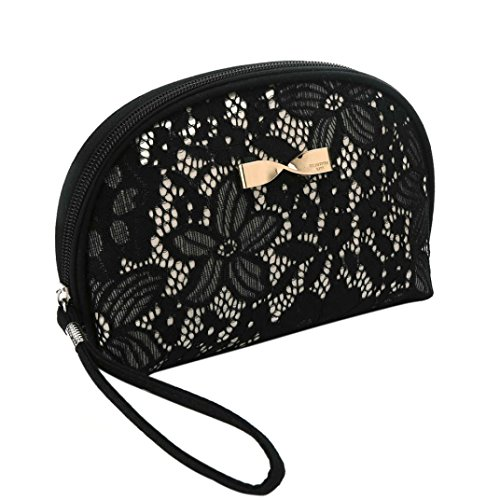Hot Sale! Clearance! Women Bag,Todaies Women Ladies Travel Bag Wash Bag Handbags Cosmetic Bag Storage Bag (15.5CM12.5CM, Black)