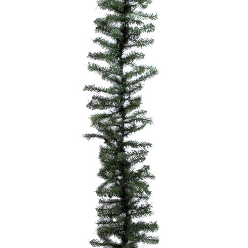 Vickerman Canadian Garland, 100-Feet by 12-Inch, Pine Green (Garland Commercial)