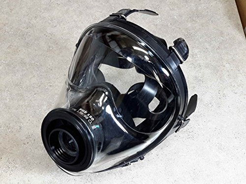 Israeli NATO Military Spec Full Face Gas Mask Respirator Made in 2018 ()
