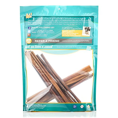 from u s a usa 12 inch odor free bully sticks by best bully sticks 10 pack all natural dog. Black Bedroom Furniture Sets. Home Design Ideas