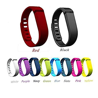 Multi Colors Replacement Wrist Band for Fitbit Flex With Clasps