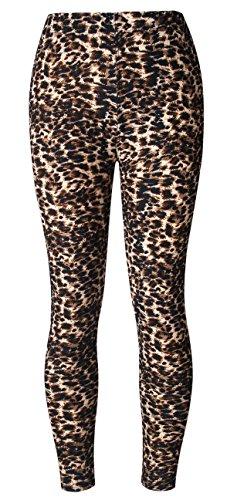 BAOMOSI Womens Leggings Ultra Soft Printed Fashion Brushed Leggings Regular and Plus Size (XS - (Girls In Sheer Leggings)