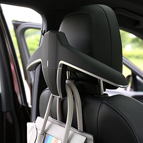 special auto accessories Universal Multifunctional Detachable Car Coat Hanger car seat brackets black color easily installation and removable car seat ()