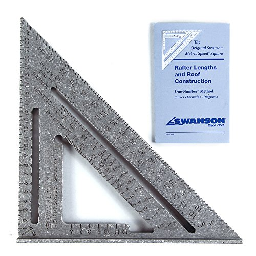 Swanson NA202 Metric Speed Square Layout Tool (Aluminum) ()