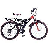 Hero Ranger 18 Speed Dtb Vx 26T Mountain Bike - Red & Black
