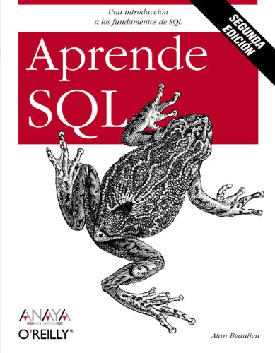 Aprende Sql. Segunda Edición