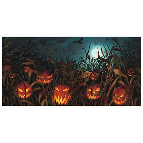 Field of Screams Horizontal Halloween -