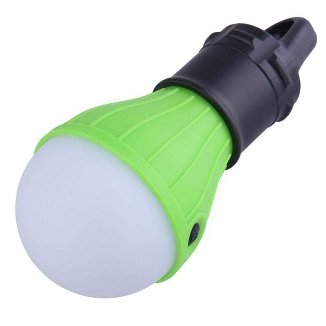 Purcon Portable Outdoor Camping LED Tent Light with Hook Emergency Lamp Lantern Flashlights