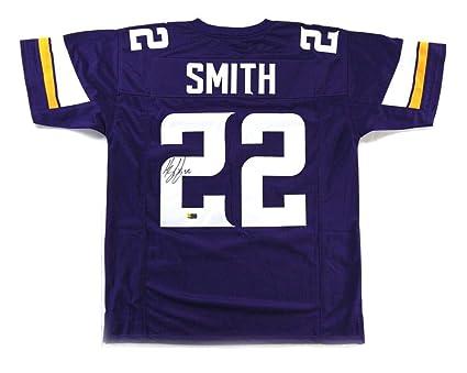 cc02d2d8685 Harrison Smith Autographed Jersey - Purple Custom - Autographed NFL Jerseys