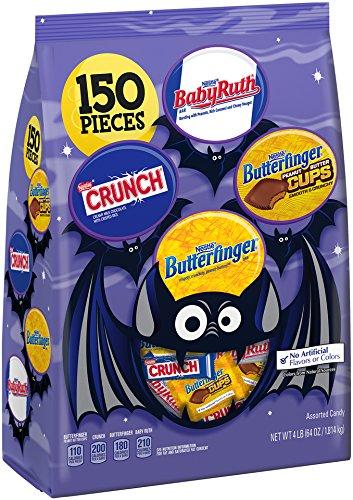 Nestle Assorted Halloween Chocolate Bag, 64