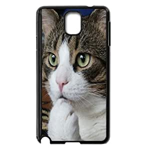 Cute pet cat HD Photo PC Hard Plastic phone Case Cover For Samsung Galaxy NOTE4 Case Cover ZDI020610