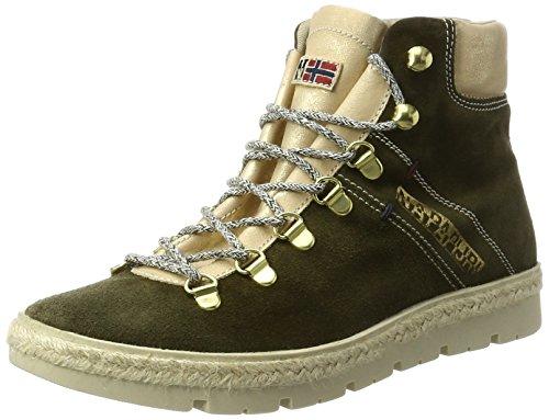 Sneakers Khaki new Basses Lykke Napapijri Grün Femme Szw5Hqa