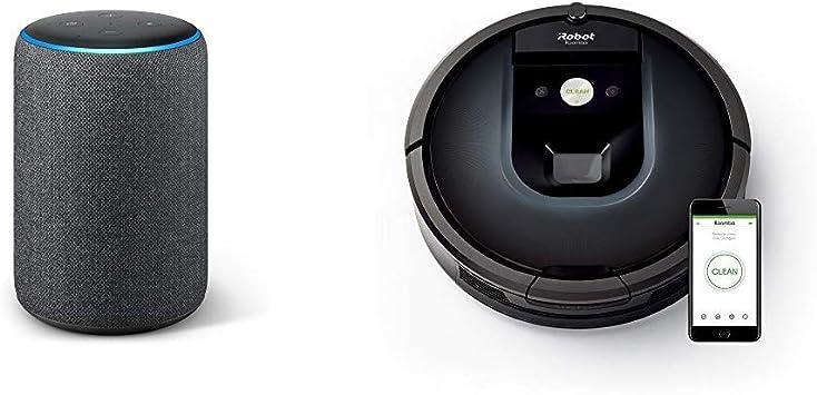 Echo Plus gris antracita + iRobot Roomba 981 - Robot aspirador ...