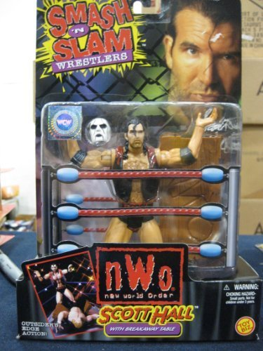 Scott Hall Smash 'N Slam Wrestling Figure AKA Razor Ramone