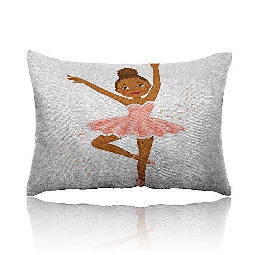 Girls Cars Pillowcase Ballerina Dancing Daughter Classic Performance Hobby Birthday Kids Baby Theme Youth Pillowcase 13