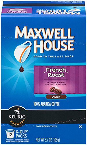 Maxwell House French Roast K-Cup Packs, 12 - Roast Coffee House French Maxwell