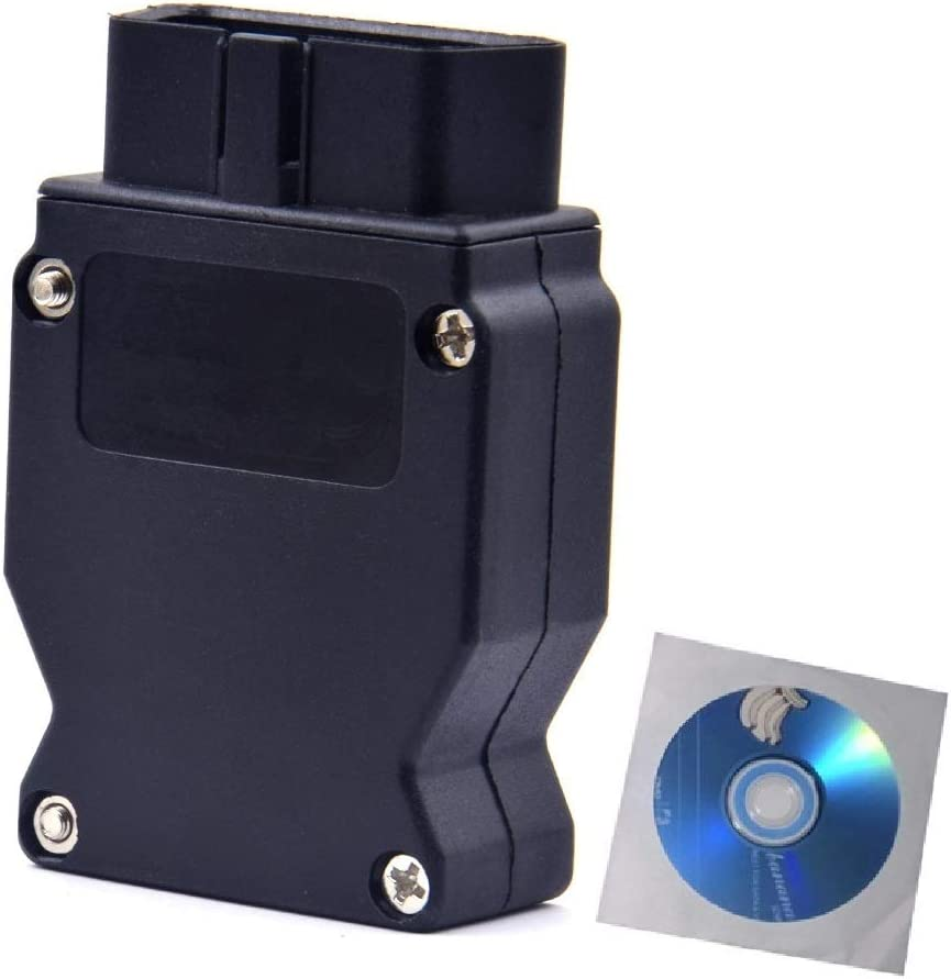 Goldplay Enet OBD RJ45 Geh/äuse-Anschluss E-SYS Coding-Ethernet OBD2 auf 16-Pin-Stecker f/ür Autos der F-Serie